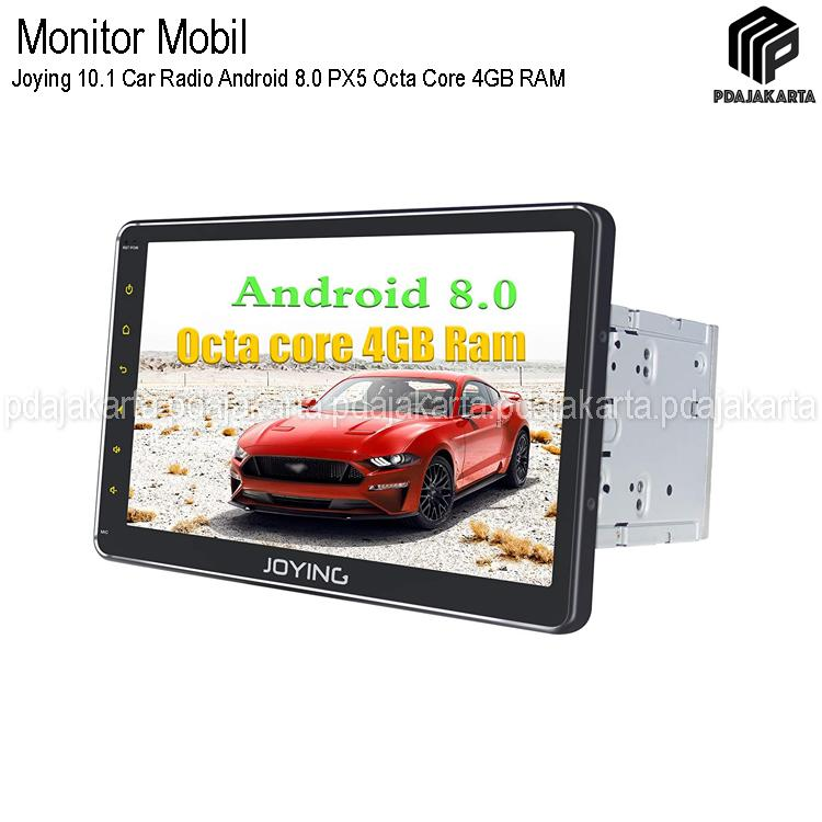 Joying 10.1 Car Radio Android 8.0 PX5 Octa Core 4GB . 32GB GPS Navigation Double Din With IPhone Zlink Dan Android Auto