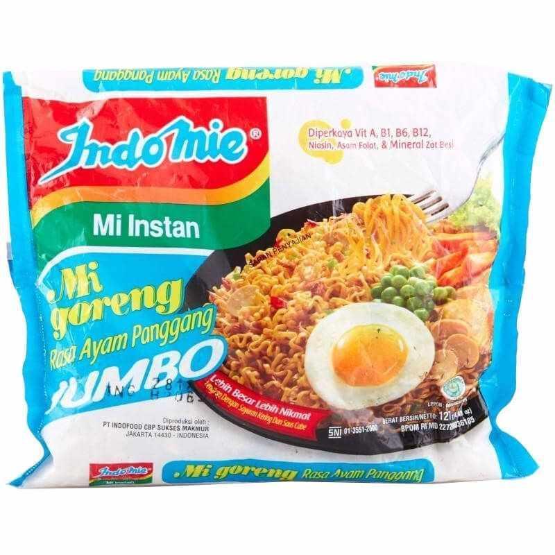 Indomie Goreng Jumbo Ayam Panggang 127Gr