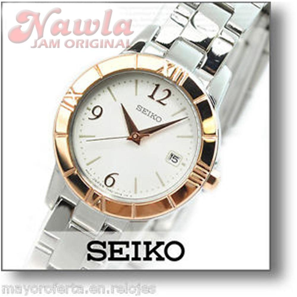 Harga Jual Seiko Ladies Srz466p1 Quartz Rose Gold Tone Jam Tangan Sxdg76p1 Sxde36p1 Bezel