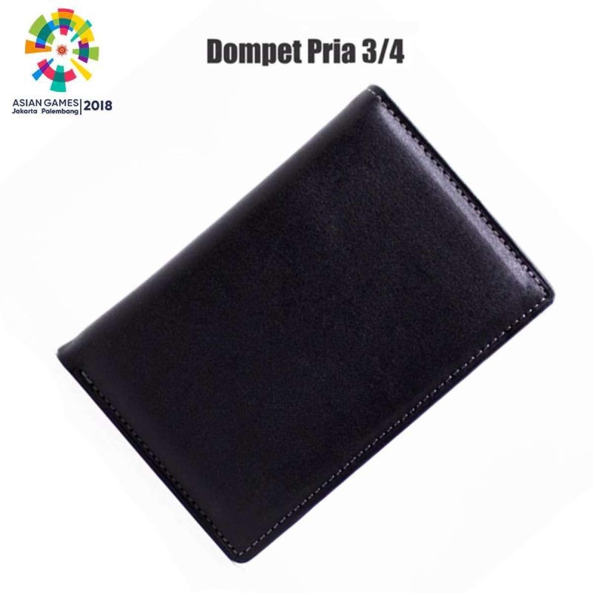 Dompet Kulit Pria 3 Dimensi Asli Garut 100 Original Model 4 Black