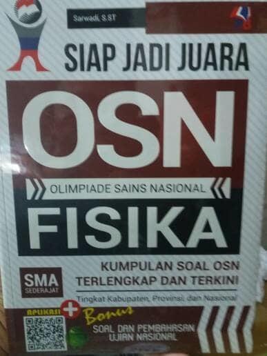 Promo Terbatas!! Siap Jadivjuara Osn Fisika Sma - ready stock
