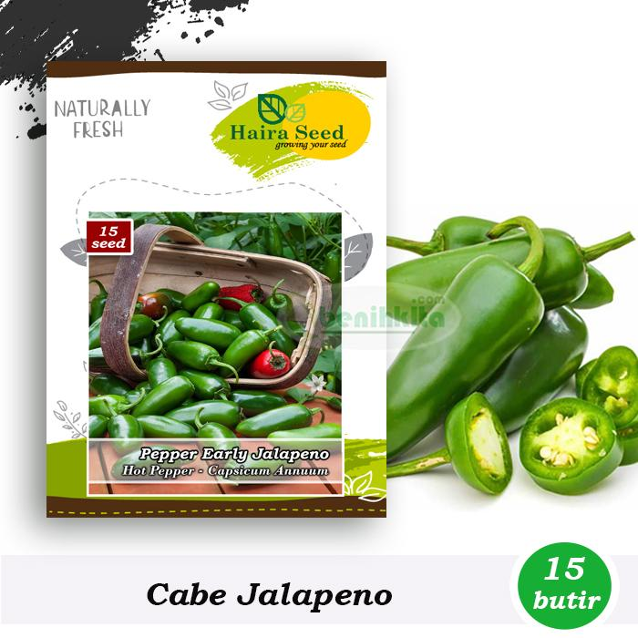 Benih-Bibit Cabe Jalapeno Early (Haira Seed)