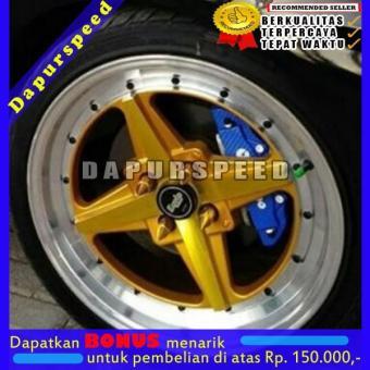 Bandingkan Toko DPS00201 Cover Rem Biru Carbon Karbon Cover Rem Disc Brake Small KECIL 2 Pot 19CM S sale - Hanya Rp57.321