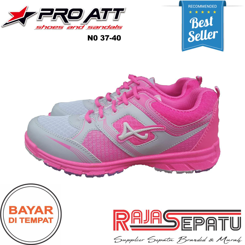 12d0e6956 TROYASTORE - PRO ATT Sepatu Wanita Sneakers Murah LG Merah Muda Original / Sepatu  Wanita Sporty