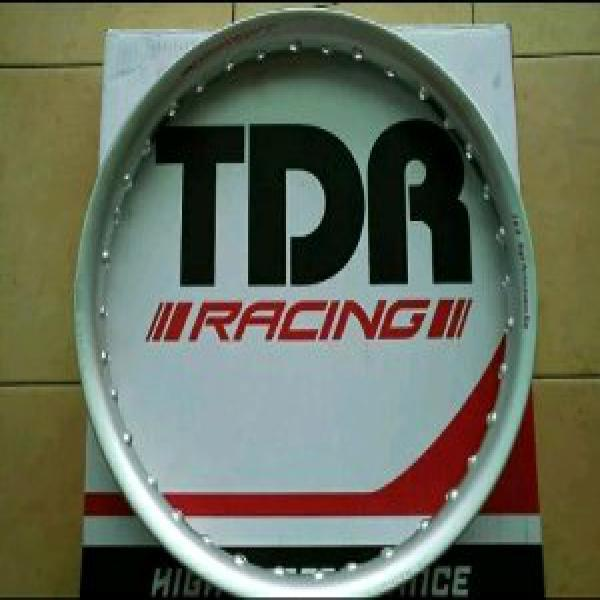 velg tdr u shape warna silver uk 215 250