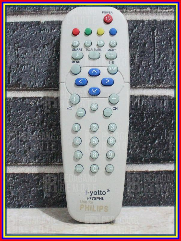 Remot Remote Tv Philips Tabung Kw Super