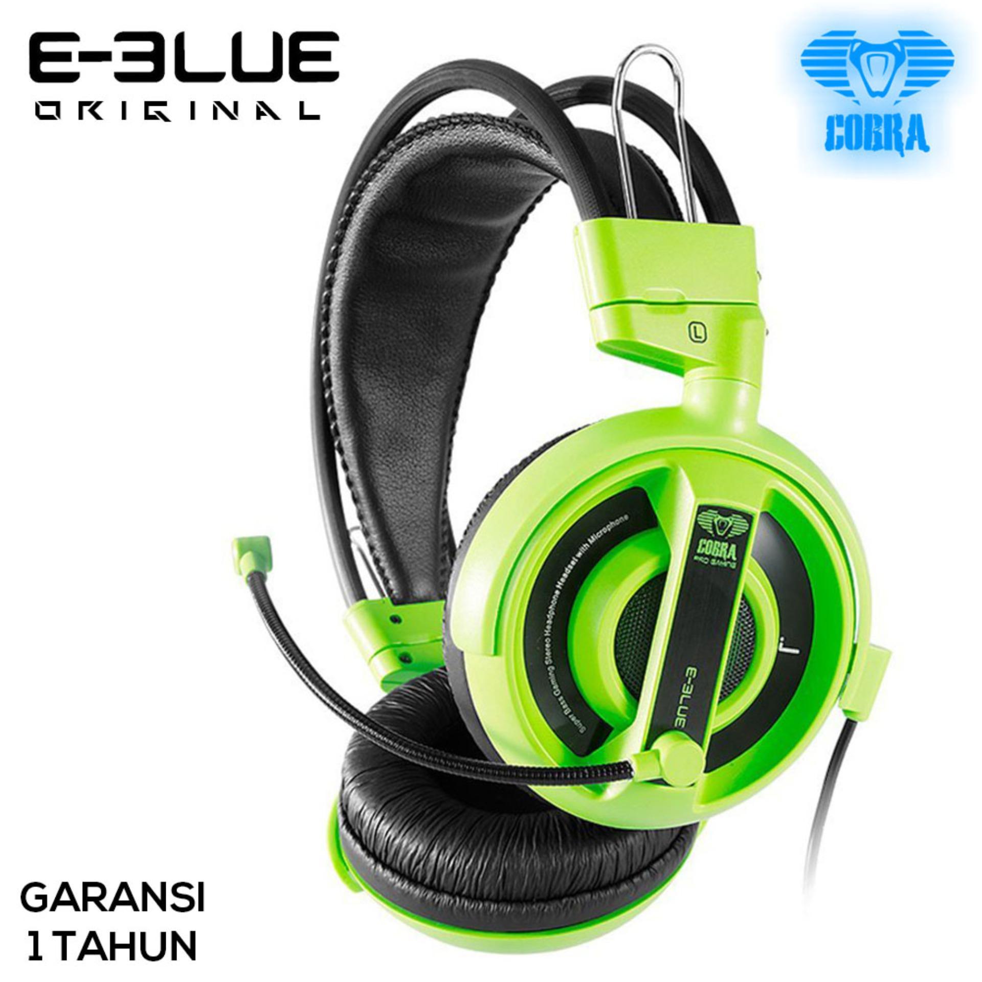 E-Blue Cobra Series Professional Gaming Headset  - EHS013 - Green