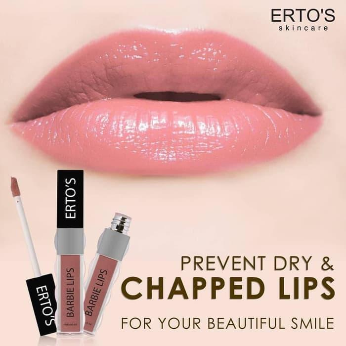 ERTOS BARBIE LIPS - ERTO'S BARBIE LIP /  LIP CREAM - LIPSTICK Harga Terjangkau