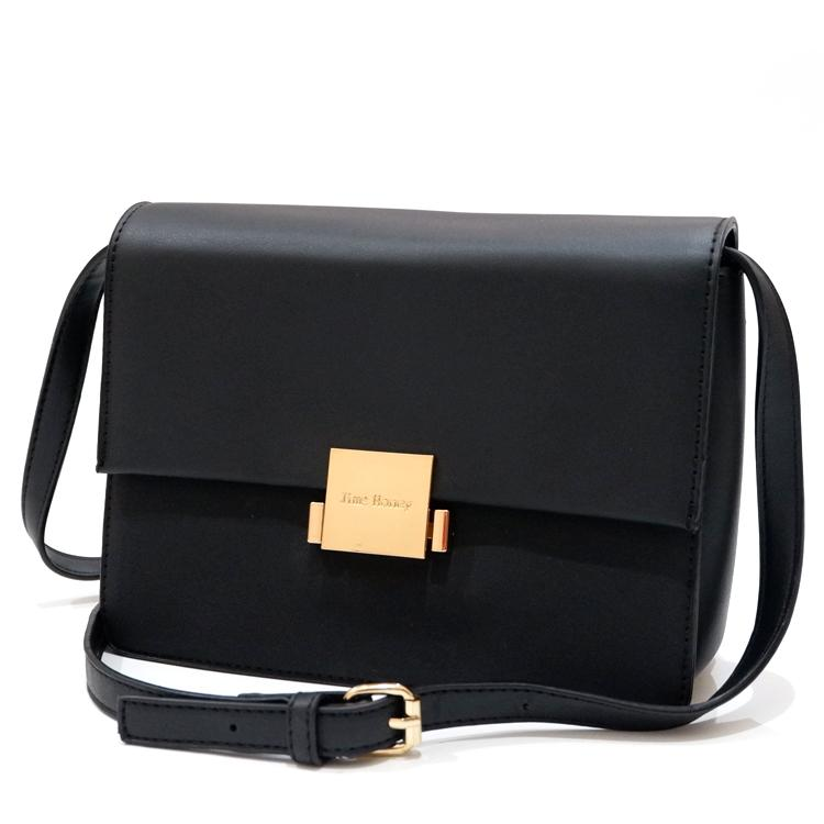 Jims Honey - Emily Sling Bag Tas Wanita Selempang Warna Black