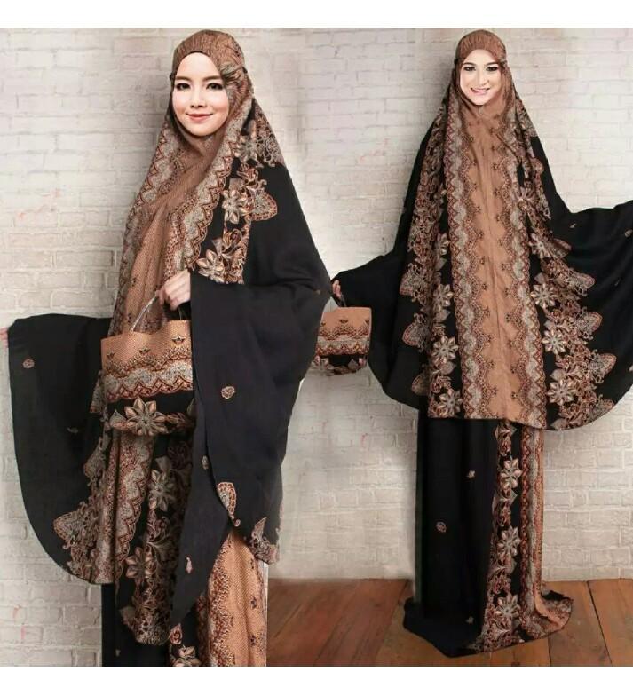 Lazda/cc Mukena rayon bali/Mukena rayon batik/Mukena jumbo/Mukena kekinian/perlengkapan solat /Fashion wanita/Baju muslim/Fashion muslim