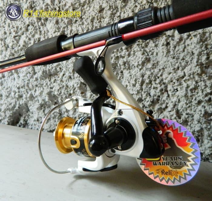 Sedang Diskon!! Set Joran Dan Reel Pancing Relix Galaxy Sealion Extra - ready stock