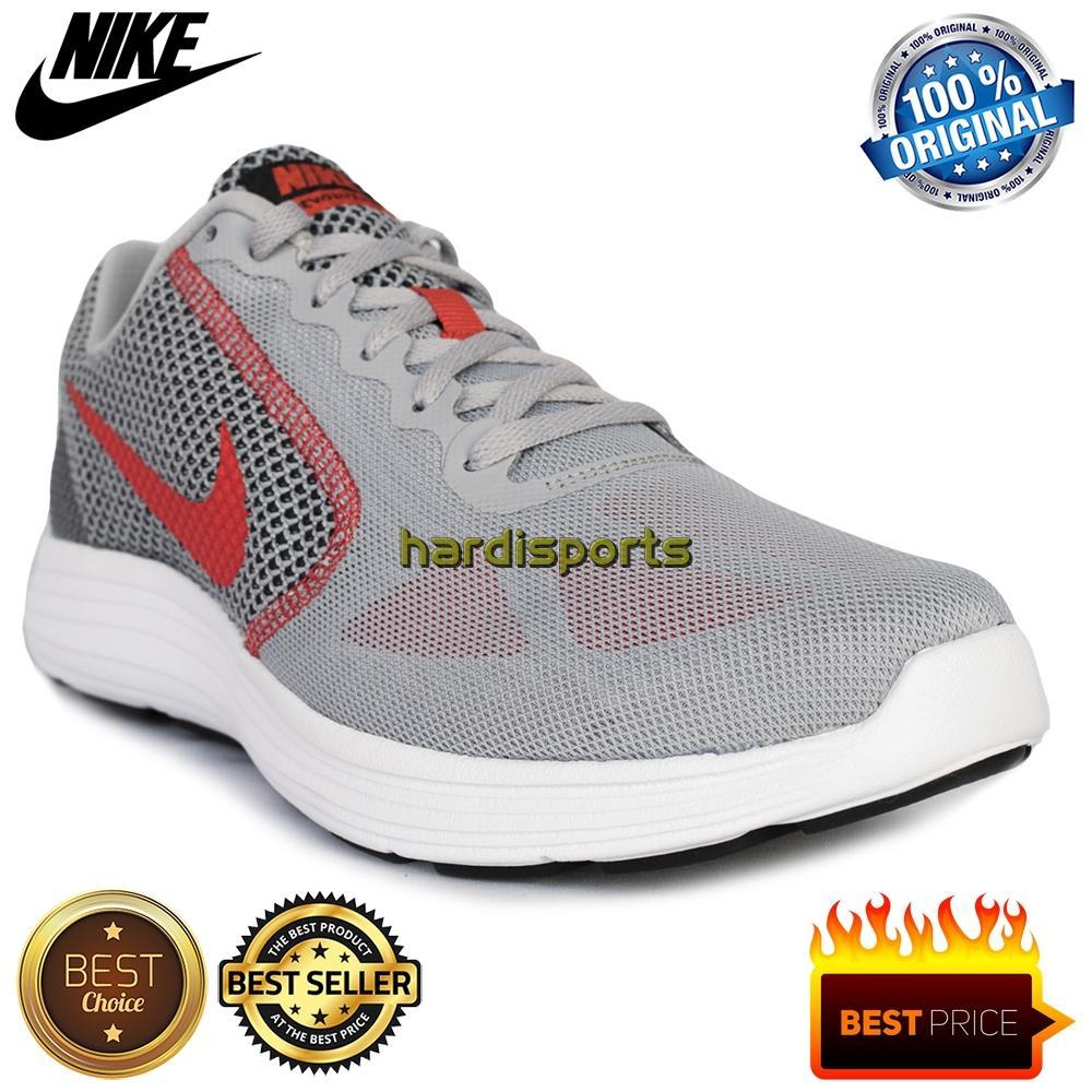 Sepatu Running Pria Nike Revolution 3 819300-011 - Wolf Grey