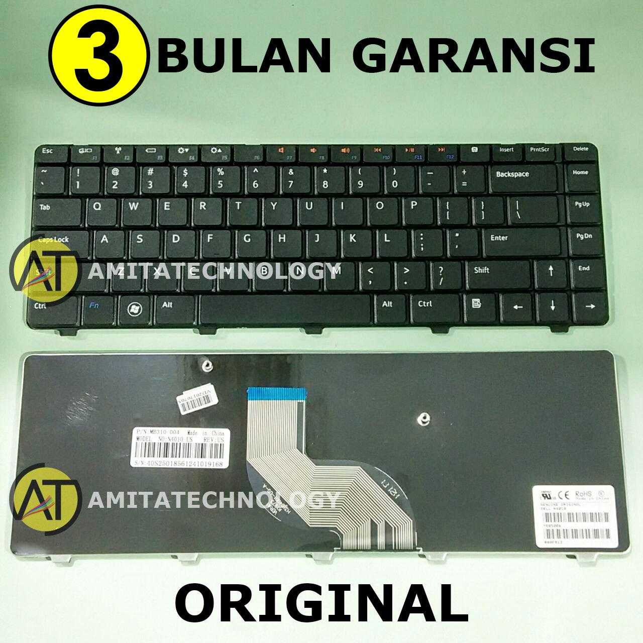 Keyboard Laptop ORIGINAL Dell Inspiron 14V 14R N4010 N4020 N4030 N5020