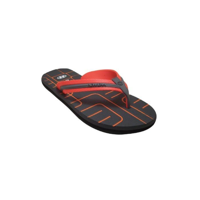 Sendal Jepit Sandal Jepit Pria New Era Escape Coklat Orange 38/41 - G6lscj