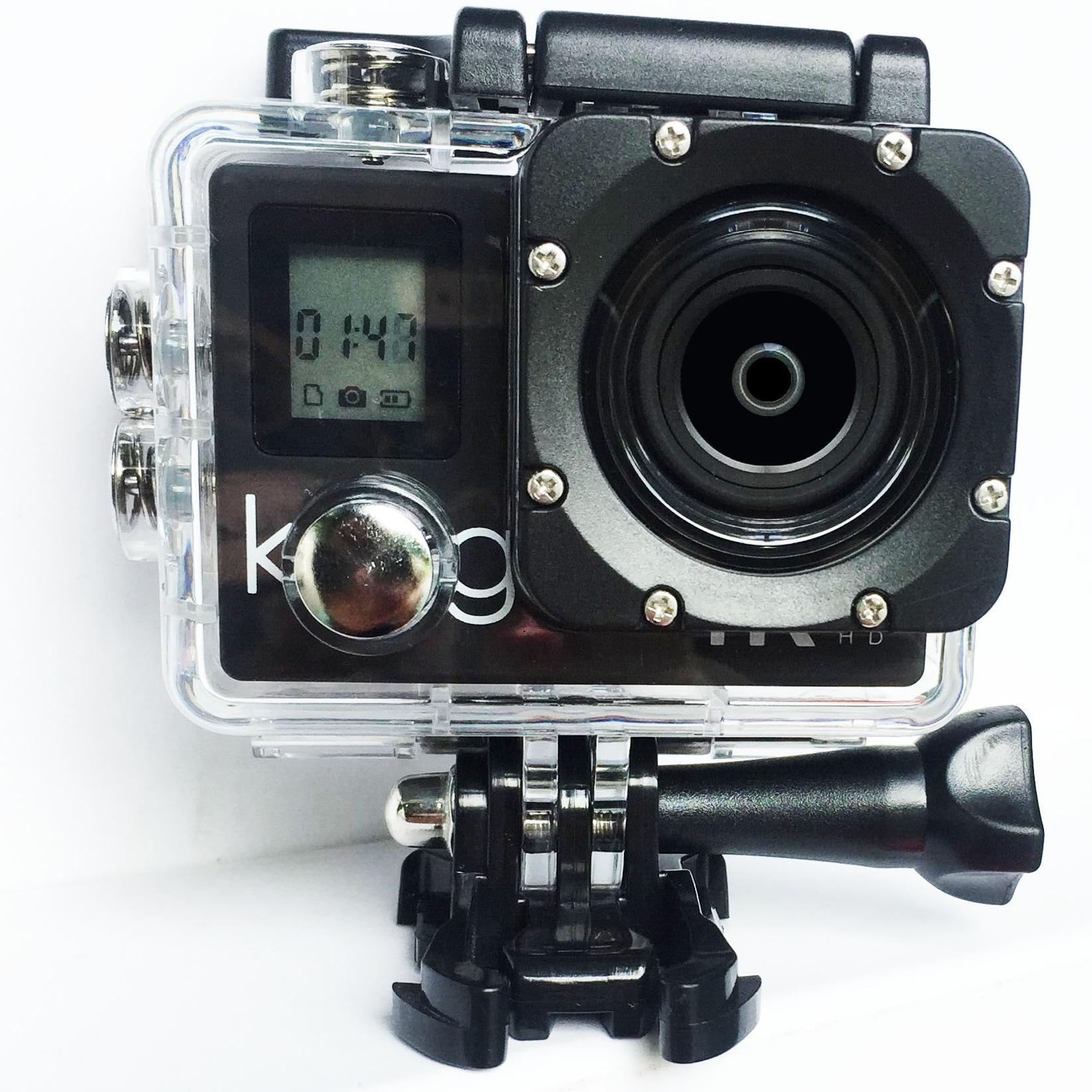 Kogan Action Camera 4K NV UltraHD - 16MP - Putih - WIFI