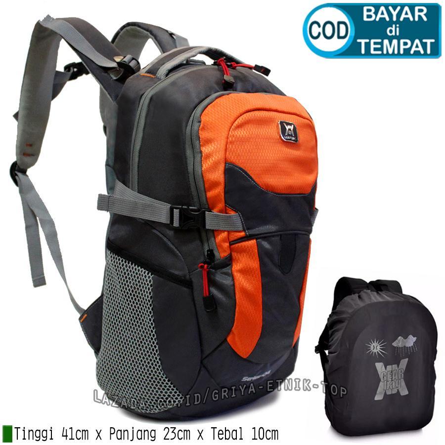 Tas ransel pria distro terbaru Gear Bag Series 04 10 Liter Bonus Rain Cover  - Backpack 6d850db55387e