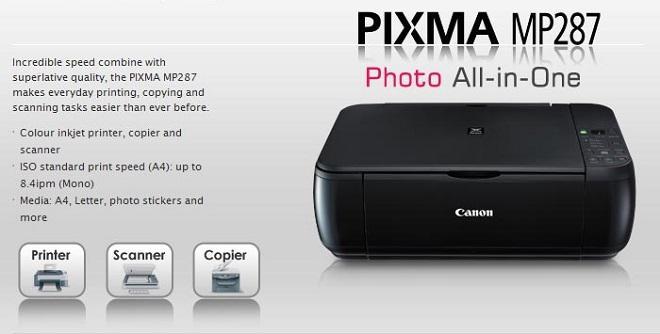 Printer Canon MP 287 Print Scan Copy