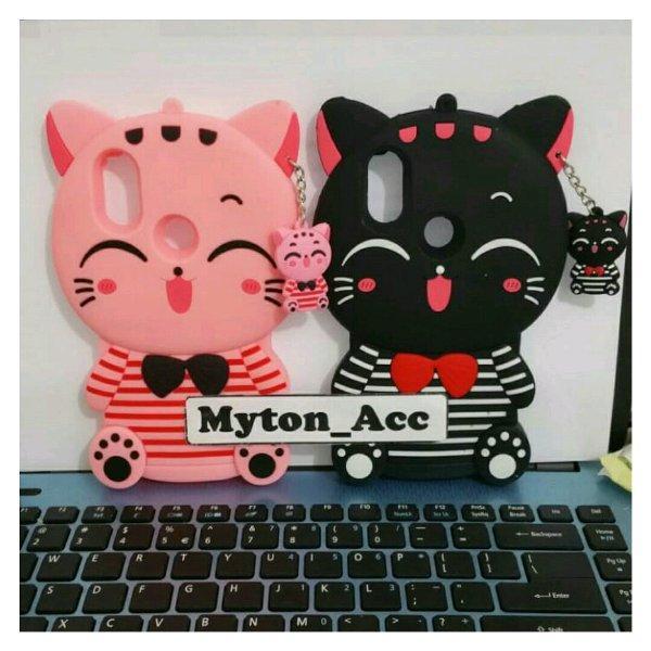Xiomi Redmi S2 Case Softcase Case 4D Kucing /Silikon /Boneka /Karakter /3D