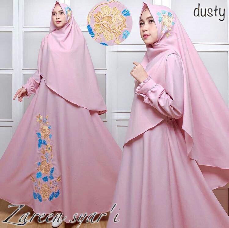 Fashion Story – Dress Maxi Karen / Baju Muslim /Dress Muslim /Pakaian Hijab /
