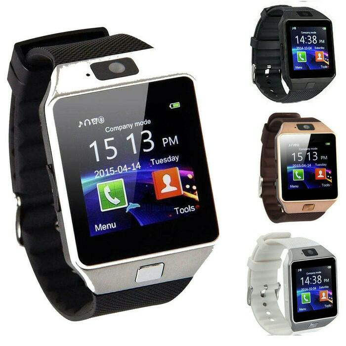 SMARTWATCH U9 DZ09 SMART WATCH JAM TANGAN HP Support SIM Card Murah / Jam Tangan canggih