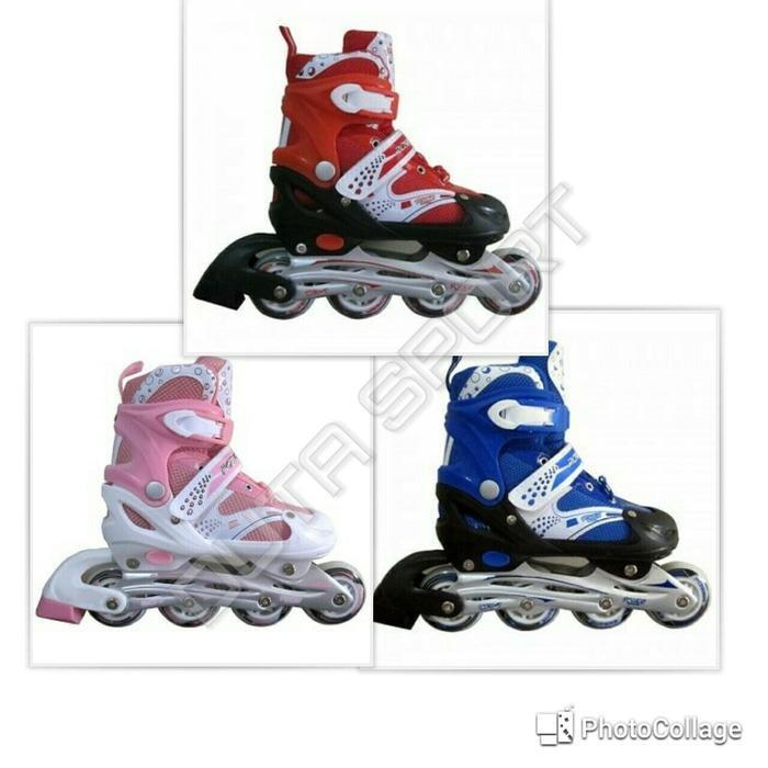 Sepatu Roda Inline Roller Blade Power Anak   sepatu roda terbaru   sepatu  roda santai   e4cefa785d