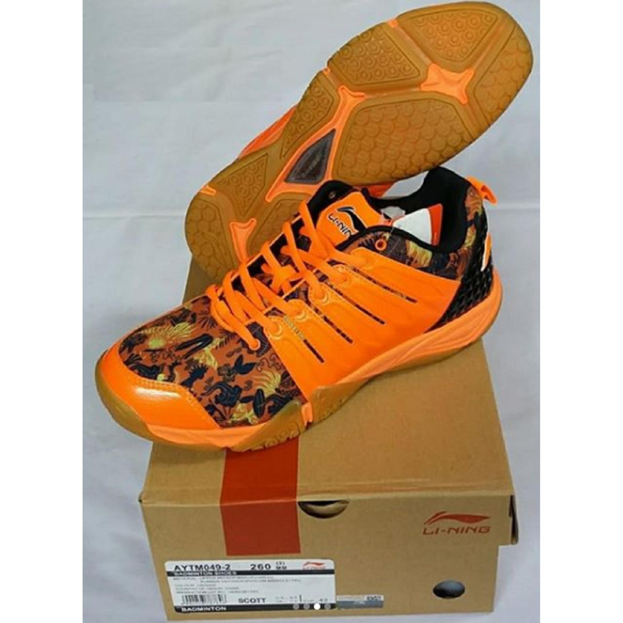 Sepatu Lining SCOTT AYTM049 BADMINTON SHOES MURAH DISKON OBRAL SALE JUAL PERLENGKAPAN BULUTANGKIS ADHA SPORT