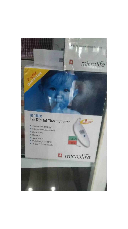Thermometer Telinga Microlife