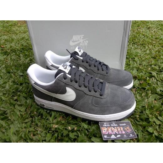 Original 100% Sepatu Casual Nike Air Force 1 07 Grey - Kjme3n