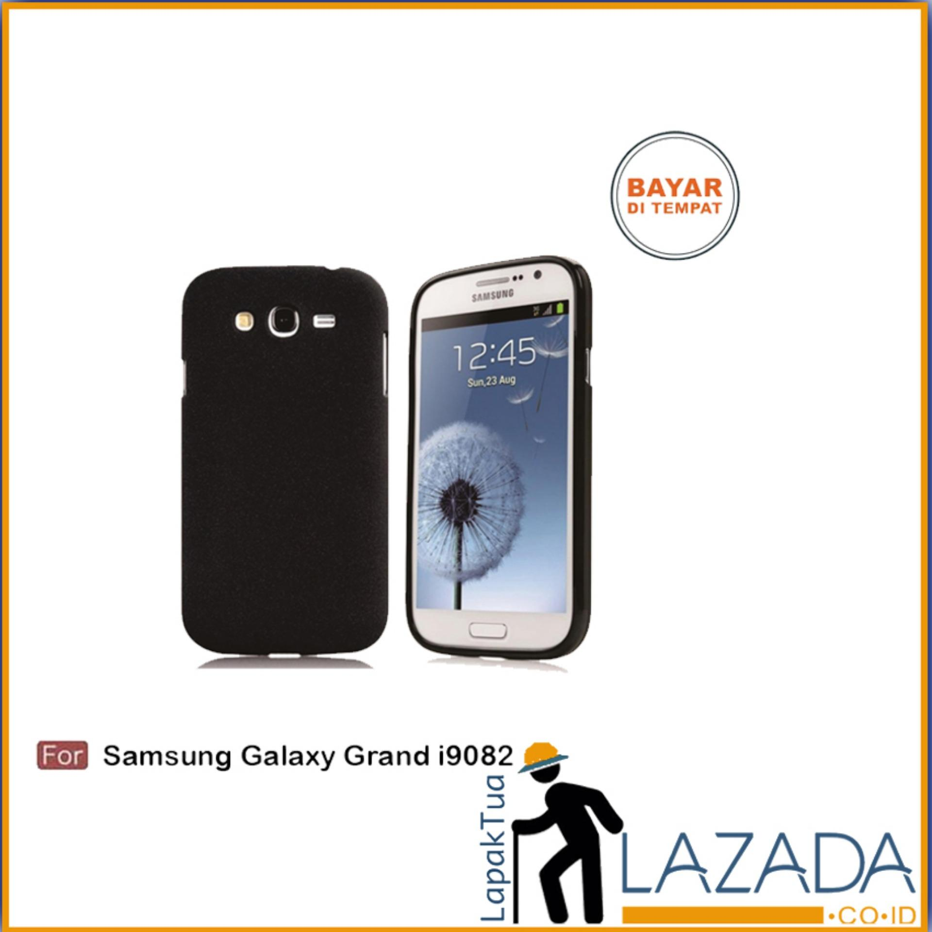 Lapak Case - Softcase Midnight Black Matte Case Ultraslim Baby Skin Untuk Samsung Galaxy Grand Duos / i9082 /Grand 1 / Grand Z