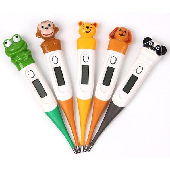 Thermometer Digital Animal - Thermometer anak thermometer serbaguna thermometer kekinian Alat Pengukur Suhu Badan Anak Alat Untuk Mengetahui Anak Saat Sakit Panas - Motif Acak