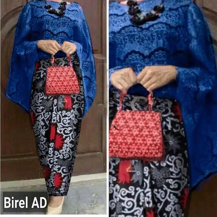 100 Mall - Setelan Atas dan Bawahan Baju Tradisional / Baju Batik / Atasan dan Bawahan / Kebaya Modern / Baju Murah / Batik Wanita / Baju Wanita / Batik / Kutu Baru / Murah; Motif dan Warna Real Photo #Ukuran S, M, L dan XL