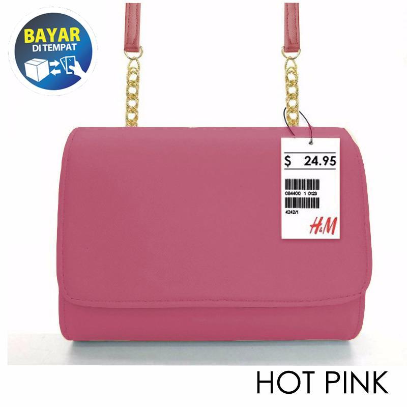 Asyakirin - Tas Wanita / Clutch Bag / Tas Selempang Wanita / Tas Mini Wanita - Hot Pink