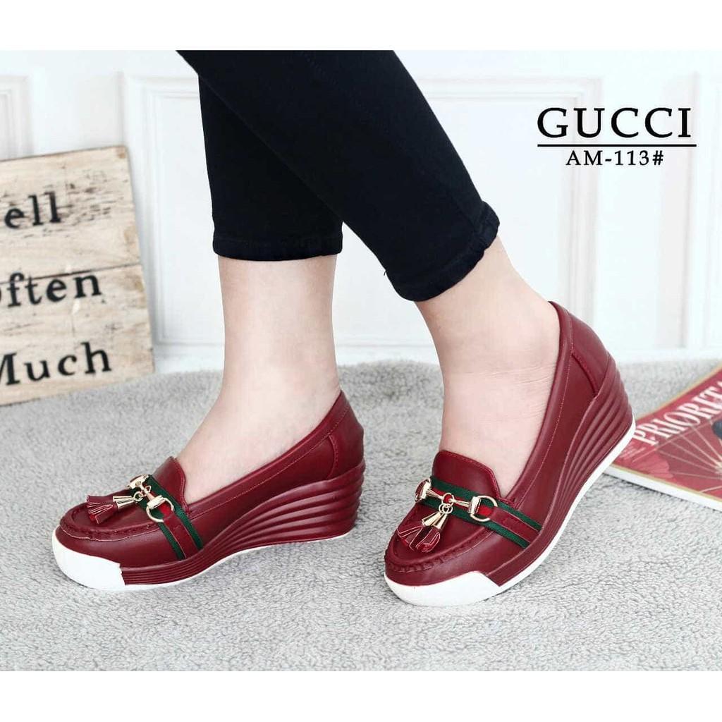 Sepatu Wanita Wedges Shoes Gucci - Theme Park Pro 4k Wallpapers 23824515b4