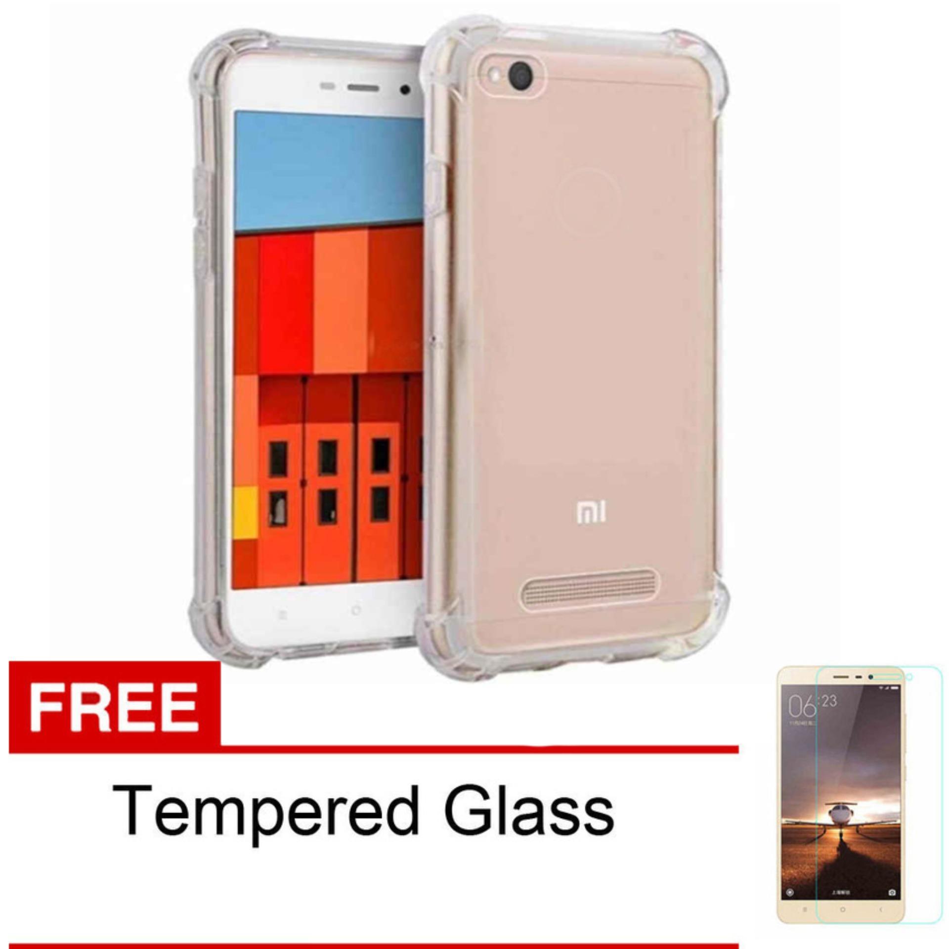 Jak Shop Soft Case Anti Crack / Anti Shock Case Xiaomi redmi 4a Kualitas Gred A