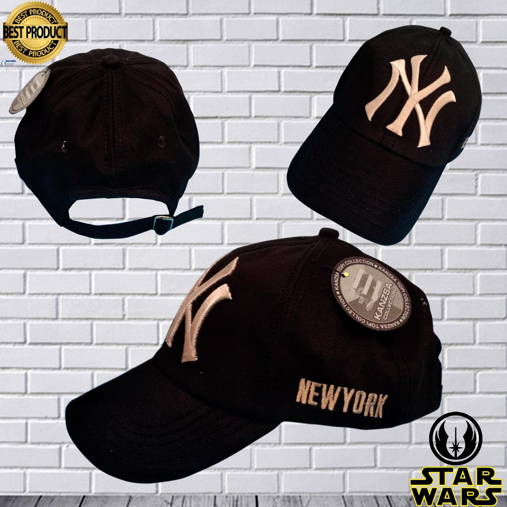 Indonesia. Topi Baseball N.YORK Fashion Pria Wanita Premium Quality - Sw3838 628b11b7a0