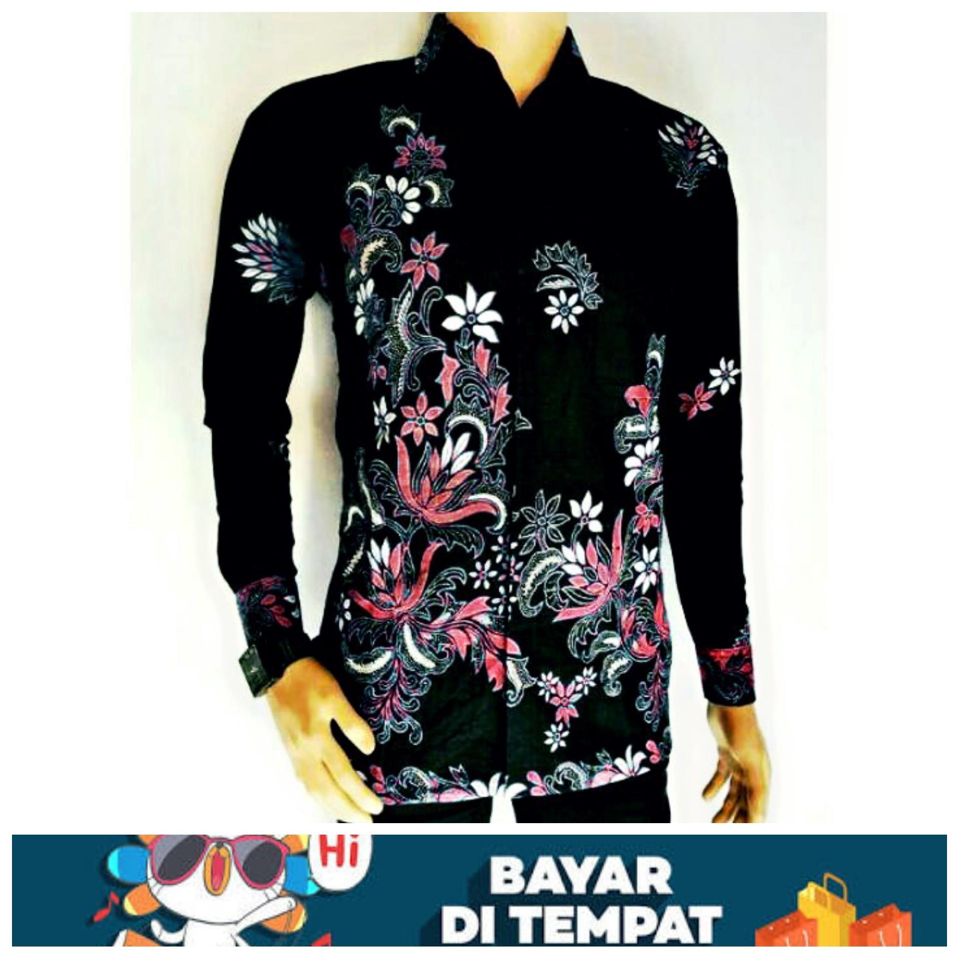 Model Baju Batik Terbaru Baju Batik Modern Batik Masa Kini Baju Batik Pria Keren Batik Modern Kemeja Batik Sakura