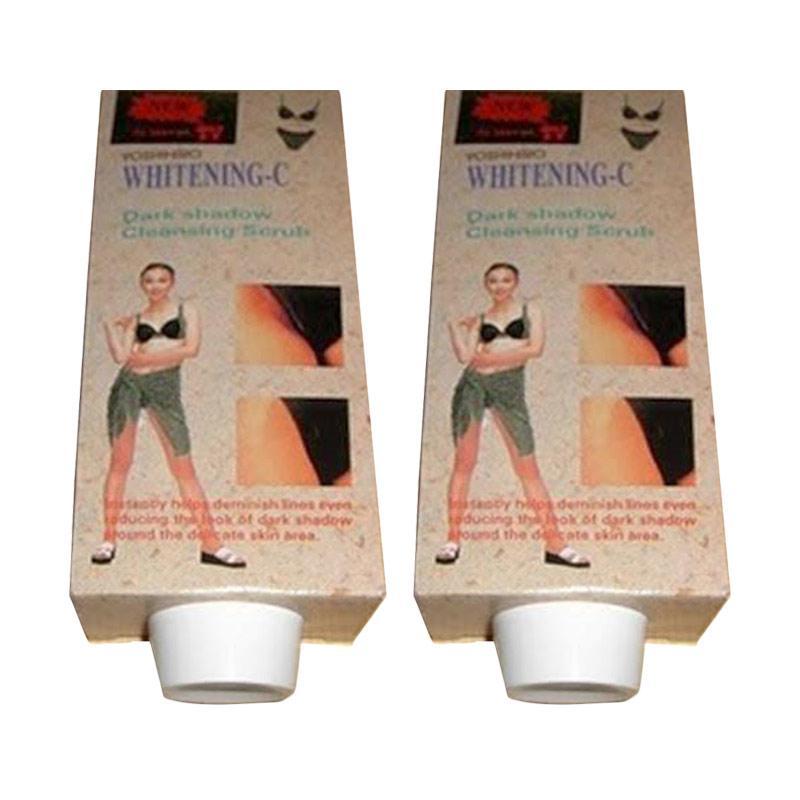 Herbal Pemutih Ketiak Dan Selangkan Whitening C Original Putih Bersih Halus 2 Paket