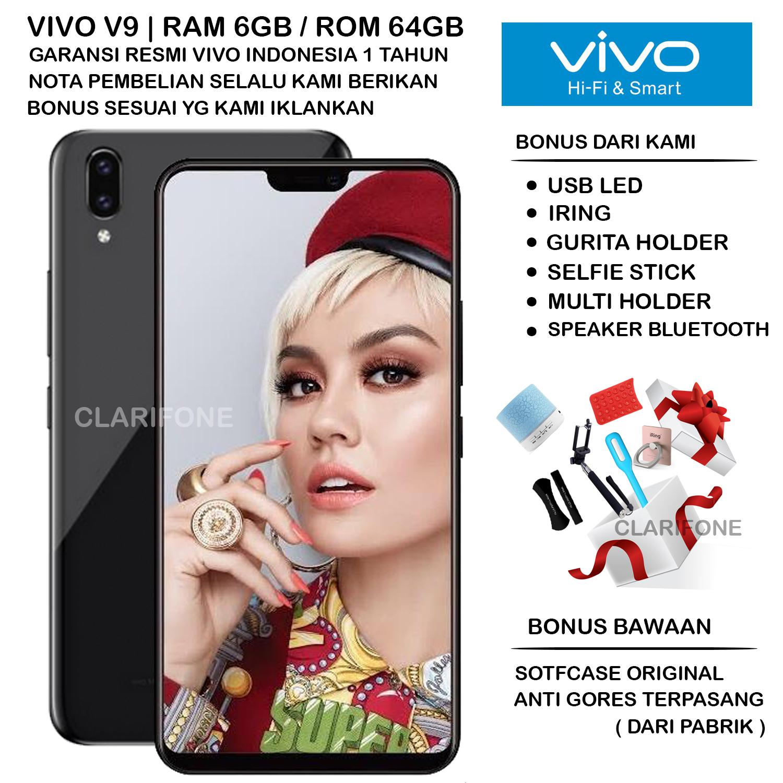 VIVO V9 PLUS - RAM 6GB - ROM 64GB - GARANSI RESMI