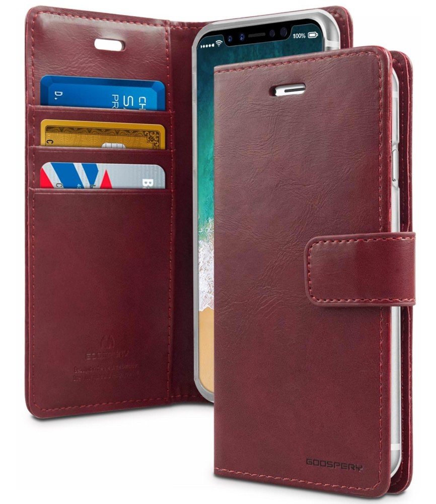 Mercury Bluemoon Diary Case for LG G6 - Wine