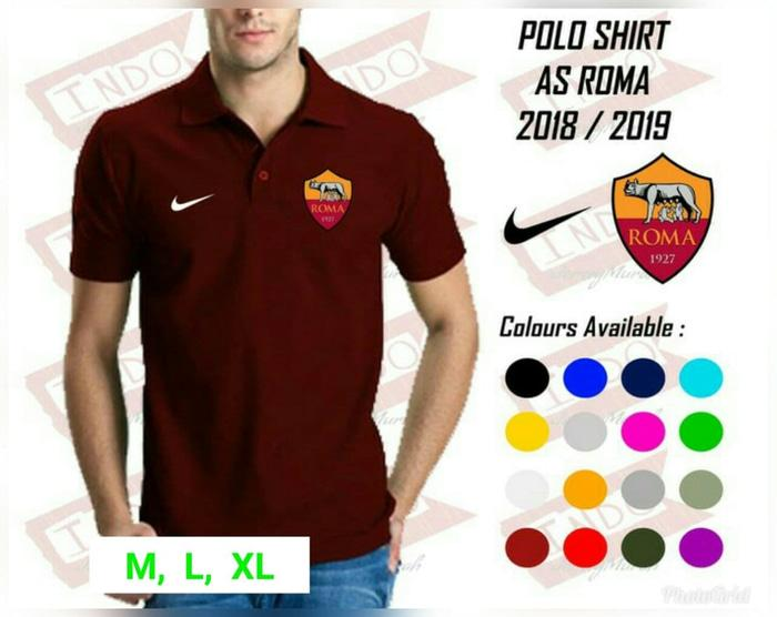 NEW POLO SHIRT AS ROMA 2018/2019 TERLARIS