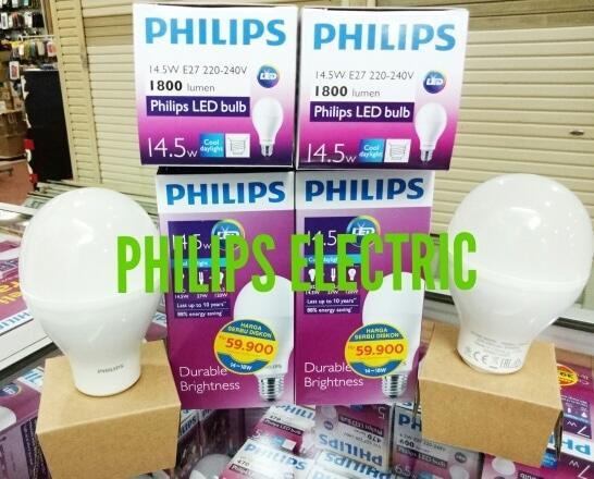 Promo LAMPU LED PHILIPS 14.5WATT 14.5 WATT 14,5WATT 14,5 WATT original