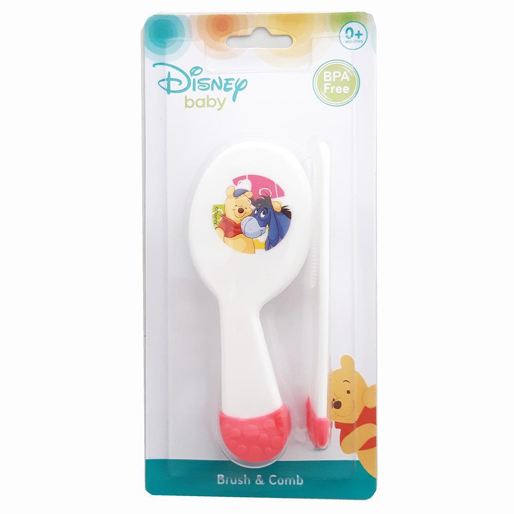 Kiddy Brush And Comb Bpa Free Wtp09011 New - Perlengkapan Bayi / Sisir Bayi Set By Plasamainan.