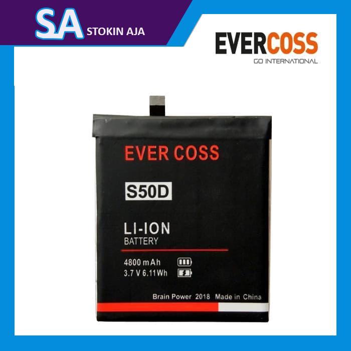 baterai Evercoss Genpro X S50D X50D double IC batu batre batrai