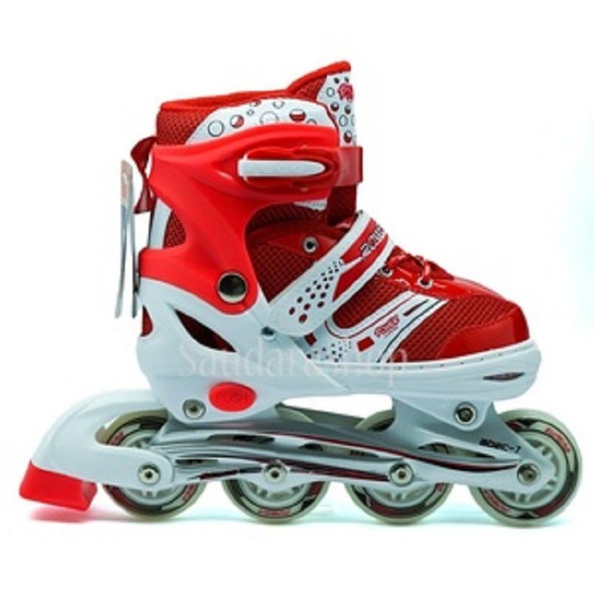 Power Super Inline Skate Sepatu Roda Anak Roda Karet e18151b65d