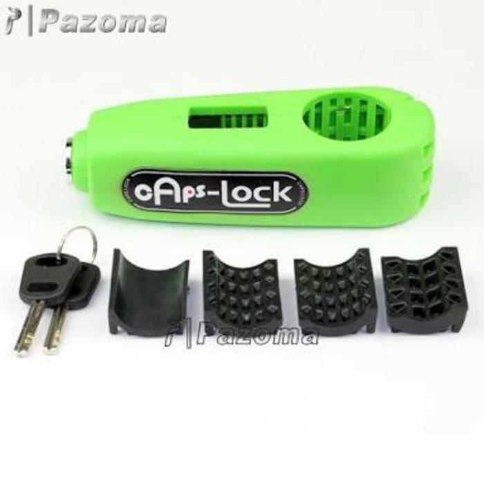 Griplock Grip Lock Kunci Gembok Pengaman Anti Maling Stang Motor | ( gembok alarm motor anti maling koper sepeda pagar cakram kinbar kode tas mobil clock rumah sensor gerak pintu digital remote lock bht ) |