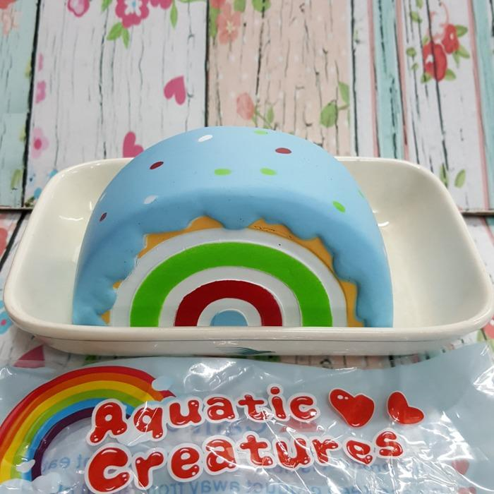 Squishy Aquatic Creatures Roll Cake Licensed by Eric