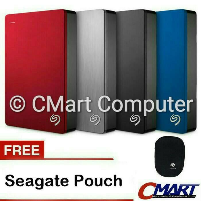 ORIGINAL - Seagate Backup Plus Slim 5TB HDD Hardisk Harddisk External Eksternal