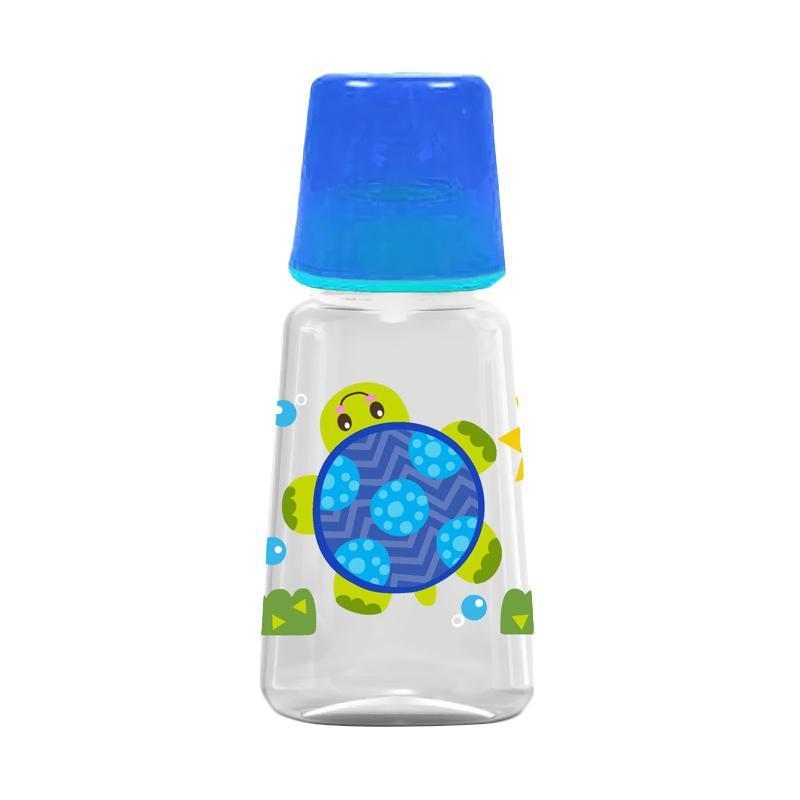 Baby Safe 1 Pcs Feeding Bottle 125ML JS001 Biru - Botol Susu Bayi