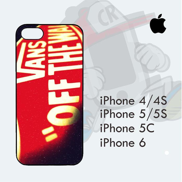 Casing Custom  Case Cover Hard Case iPhone 6 Plus Vans Original Case