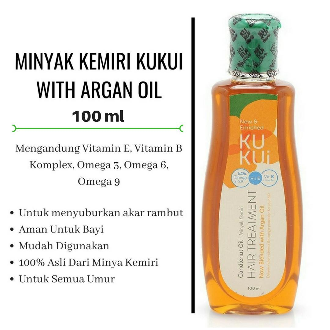 Buy Sell Cheapest Minyak Kemiri Super Best Quality Product Deals New Kukui Paket 6 Isi With Argan Oil